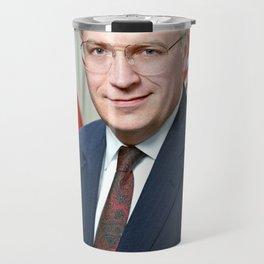 Official portrait of Secretary of Defense Richard B. Cheney Travel Mug