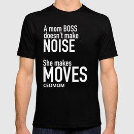 Mom Boss Black Tee T-shirt