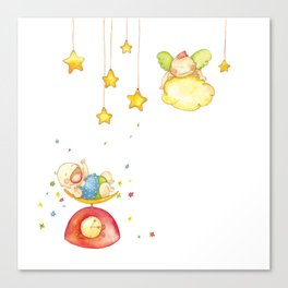 Baby weight Canvas Print