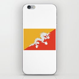 Bhuan flag iPhone Skin