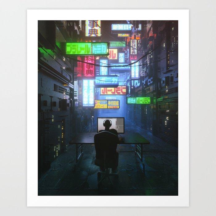 FOCUS (everyday 04.30.17) Art Print