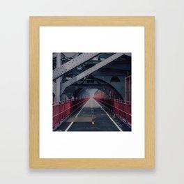 Williamsburg Bridge #1 Framed Art Print