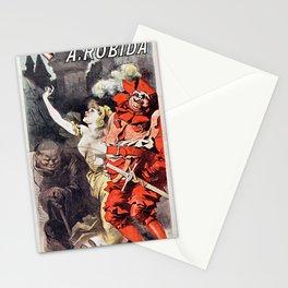 Œuvres de Rabelais illustrées par A. Robida Stationery Cards