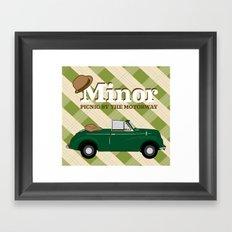 Minor Framed Art Print