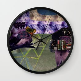 Everything is cats. All things are cats? Wall Clock