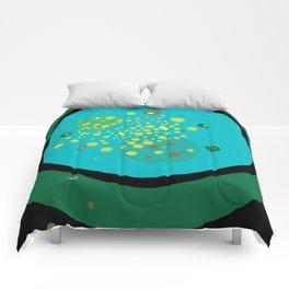 Green No. 1 Comforters