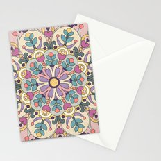 Happiness is Now Mandala Stationery Cards