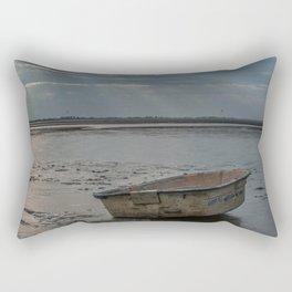 Old Boat Rectangular Pillow