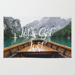 Live the Adventure - Lets Get Lost Rug