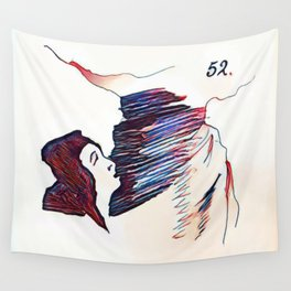 Los Caprichos ~ 52 ~ What a Tailor Can Do Wall Tapestry