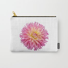 Pink Dahlia on a transparent background Carry-All Pouch