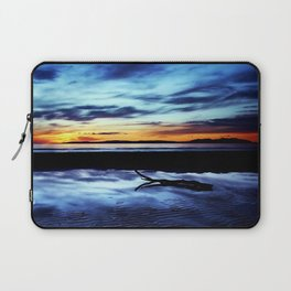 Reflections On Troon Beach Laptop Sleeve