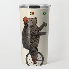The Juggler (color option) Travel Mug
