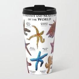 Starfish and Seastars of the World Travel Mug