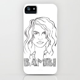 Bambi iPhone Case