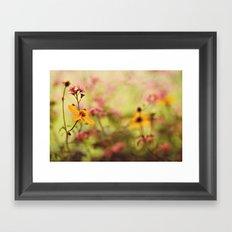 Lemon drop Flower box Framed Art Print