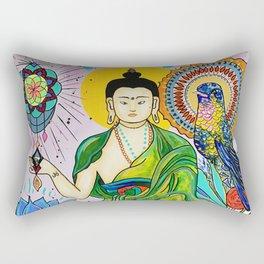 Buddha Freedom Nirvana Rectangular Pillow