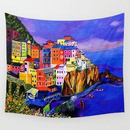 Manarola Cinque Terre Wall Tapestry