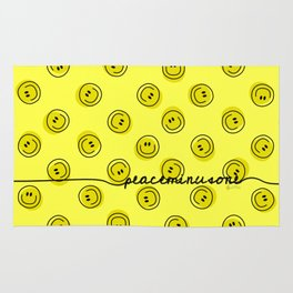 PMO Yellow Happiness Rug