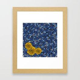 Hawaiian-Themed Print Framed Art Print