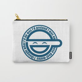 Laughing Man Carry-All Pouch