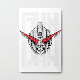 SkullDam Metal Print