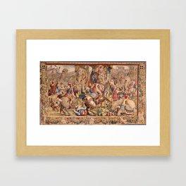The Battle of Zama Framed Art Print