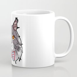 Maine Coon Cat Face Cats Love cute funny lovely Coffee Mug