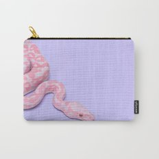 PINK SNAKE Carry-All Pouch