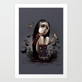 Surreal doll 1 Art Print