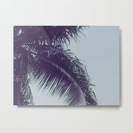 Stormy Palms Metal Print