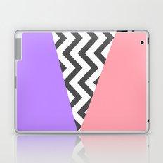 Color Blocked Chevron 7 Laptop & iPad Skin