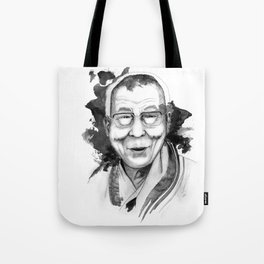 Belief & Knowledge (Dalai Lama) by carographic Tote Bag