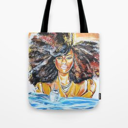 lost without u Tote Bag