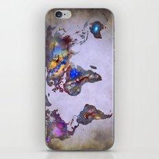 Stars world map. Space. iPhone & iPod Skin