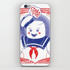 STAY PUFFT iPhone Skin