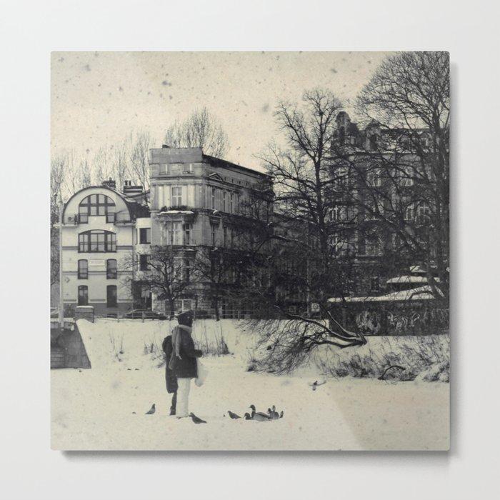 Winter's Coming Metal Print