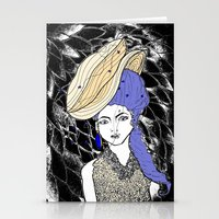 hats Stationery Cards featuring Hats by Madame Mim