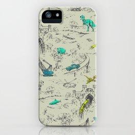 Adventure Toile  iPhone Case