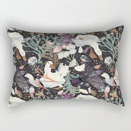 Feathered friends Rectangular Pillow
