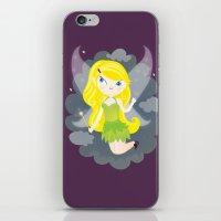 fairy iPhone & iPod Skins featuring Fairy by Maria Jose Da Luz