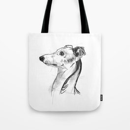 Italian Greyhound Sketch Tote Bag