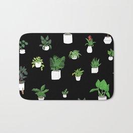 House Plants Bath Mat