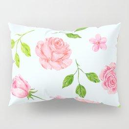 English Rose Pattern 07 Pillow Sham
