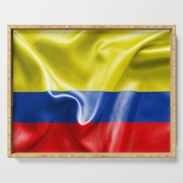 Colombian Flag Serving Tray
