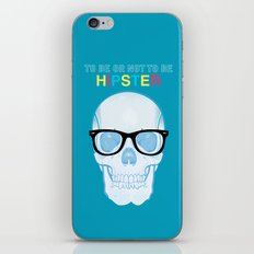 To Be or Not To Be.....Hipster iPhone & iPod Skin