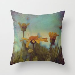 The beauty of simple things Throw Pillow