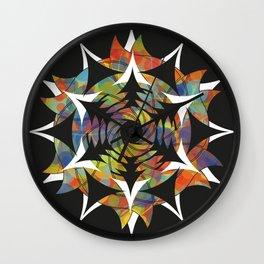 Galaxy - Crop Circle Wall Clock