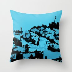 Telegraph Hill Print Throw Pillow