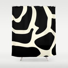 Giraffe texture #society6 #decor #buyart #artprint Shower Curtain